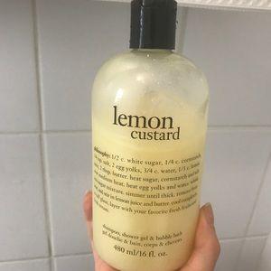 Philosophy large size lemon custard